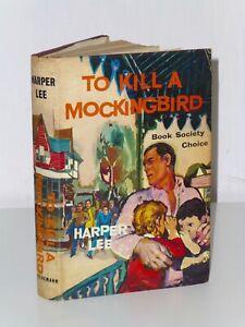 1st Print To Kill A Mockingbird Harper Lee Heinemann 1960 UK H/B Deep South