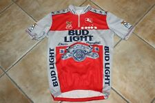 Maglia Shirt Camiseta Maillot Ciclismo Tour Giro USA Bud Light Beer Diadora