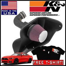 K/&N Performance Cold Air Intake Kit 63-2590 with Lifetime Filter for Ford Mustang GT 5.0L V8