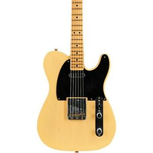 Fender 70th Anniversary Broadcaster Journeyman Relic LE Guitar Nocaster Blonde
