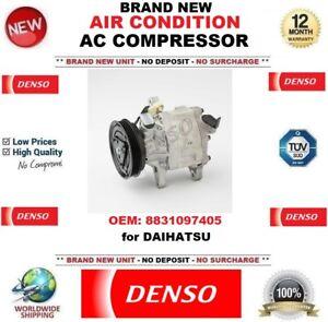 DENSO AIR CONDITION AC COMPRESSOR OEM: 8831097405 for DAIHATSU BRAND NEW UNIT