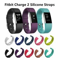 Fashion Fitbit Charge 2 Replacement Silicone Rubber Band Strap Wristband Fashion