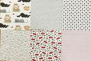 """Stampin' Up! Designerpapier """"Tierliebe"""" 6 Blatt 15,2 x 15,2 cm"""