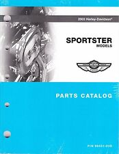 2003 Harley Sportster 883 1200 XL883 XL1200 Part Parts Manual Catalog 99451-03B