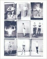 Nine vintage wrestling/physique photos. Reprint on Kodak paper. Gay interest. #2