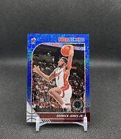 2019-20 NBA Hoops Premium Stock Blue Mojo Prizm Derrick Jones Jr #/99🏀🔥PWE