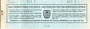 CHILE, CHEQUERA AÑO 1975, DEL BANCO ESTADO DE PUERTO VARAS, CONTIENE 16 CHEQUES