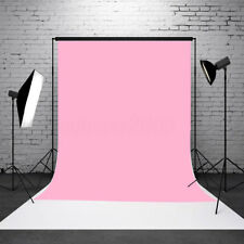 3x5ft Baby Pink Thin Vinyl Photography Background Backdrop Studio Photo Props US