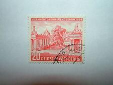 1954 WEST BERLIN 20pf FOUR POWER CONFERENCE, BERLIN VFU (sgB113) CV £5.75
