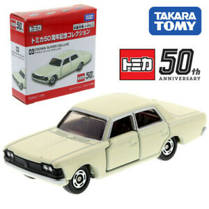 Tomica 50th Anniversary 1/65 Toyota Crown Super Deluxe 03 Metal Diecast Car