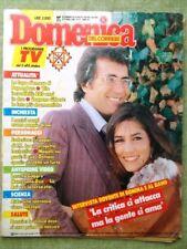 La Domenica del Corriere 6 Ottobre 1988 Mafia Romina Al Bano Goggi Canyon Meana