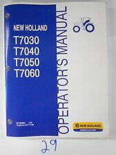 New Holland T7030 T7040 T7050 T7060 Armrest Tractor Operator Owner's Manual 1/08