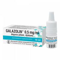 GALAZOLIN 0,5 mg/ml 10ml  Xylometazolin Nasal Drops For Nasal Congestion