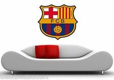 BARCA Barcelona FC Wall Sticker Decal Mural Art Bedroom Boys Vinyl BIG 60 x 48cm