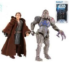 STAR WARS Expanded Universe Anakin Skywalker & Durge 2 figure & comic pack  RARE