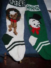 Christmas Stocking HAND KNIT