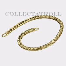 Authentic Troll bead 14K Bracelet No Lock 7.7 Trollbead