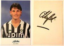 Cartoncino Juventus - Nicolò Napoli Autografo Originale Sul Retro