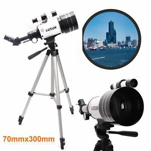 Night Vision With Space Star Moon HD Viewing Professional Astronomical Telescope