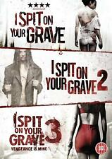 I Spit On Your Grave 1 + 2 + 3 Movie Collection DVD Set New Sealed