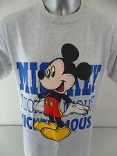 Mickey Mouse Disney Velva Sheen Vintage 1980's Large 50/50 Blend T Shirt USA EUC