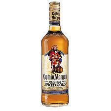 6 bottiglie Captain Morgan SPICED rum Oro 0,7l 35% vol.