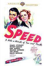 SPEED - (B&W) (1936 James Stewart) Region Free DVD - Sealed