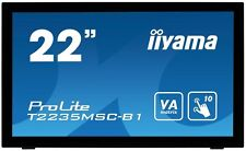 Iiyama Prolite 22 pulgadas LED Monitor Pantalla Táctil - Full HD, 6ms, ALTAVOCES
