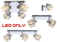 Retro Contemporary G9 LED 1/2/3/4 Way Celling/Wall Spotlight Light Fittings