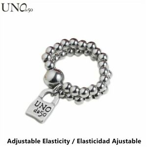 New UNO de 50 Brand Jewelry Men Women's Stainless steel Padlock Rings Unisex