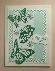 Handmade quilling card Happy Birthday card Butterfly/'s wings greeting card Thank you card