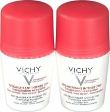 Vichy Deodorant Stress Resist Anti-Perspirant Roll-On 72h (2x 50ml), US Seller