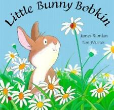 Little Bunny Bobkin - James Riordan - Scholastic Book - Easter