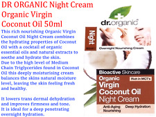 DR ORGANIC Virgin Coconut Oil NIGHT CREAM 50ml ( Anti-aging )