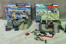 LOT 2 BOITES ** MICRO MACHINES  ** BATTLE ZONES VIPER AMBUSH BARRACUDA DAY