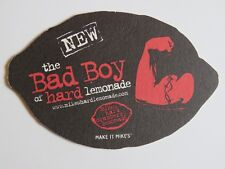 Beer Coaster ~ MIKE'S Hard Cranberry Lemonade ~ The New Bad Boy Alcohol Drink