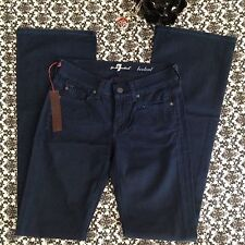 NWT $198 7 For All Mankind Boot Cut Jeans Size 24. Great Price