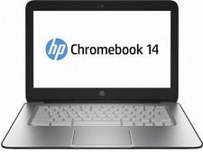 "HP Chromebook laptop 14"" Black 16GB SSD 4GB  HDMI Usb 3  WiFi webcam J2L40UA#ABA"