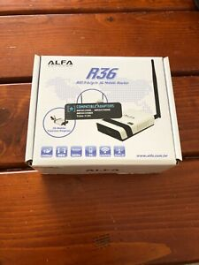 ALFA R36 WiFi Mobile Router Repeater 802.11 b/g/n