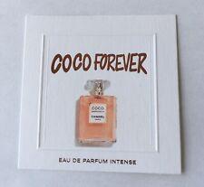 1 Très jolie carte parfumée Chanel