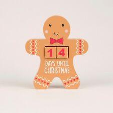 Sass & Belle GINGERBREAD MAN CHRISTMAS COUNTDOWN BLOCK Advent Calendar Kids Baby