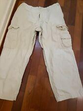 Man Faded Glory Cargo Pants, Men's 42 X 30 100%cotton
