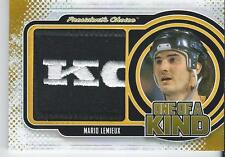 2016-17 President's Choice Game Used Patch MARIO LEMIEUX 1/1 One of a Kind