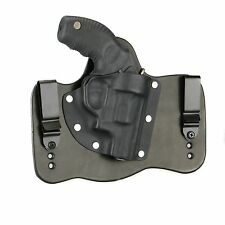 """FoxX Leather & Kydex IWB Hybrid Holster Taurus 85 -Protector Poly 2"""" Black Right"""