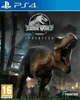 Jurassic World Evolution (PS4) NEW FACTORY SEALED.