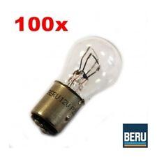 100x Beru 12v 21/5w p21/5w lámpara incandescente bala lámpara lámpara bay15d 500312211