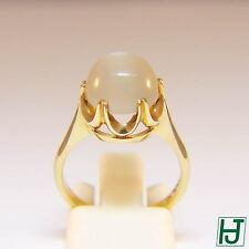 Brand New Moonstone Ring, Size 6.25, in 14k Yellow Gold