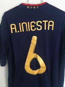 insalubre Alabama bomba  Camisetas de fútbol de selecciones nacionales adidas España | Compra online  en eBay