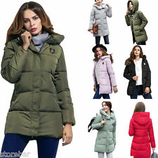 New Fashion Women's winter Coat Long Hooded Slim Down padded Winter jacket
