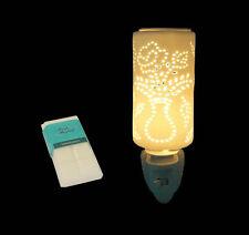Electric Oil Burner Nightlight  Flower Pot Pattern REDUCED TO HALF PRICE